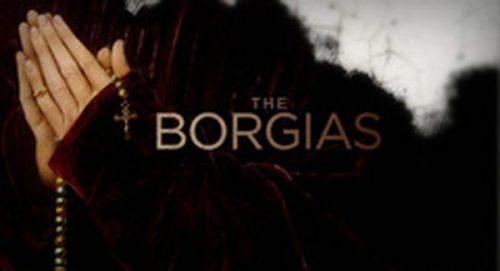 The Borgias Title Treatment