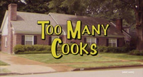 Too Many Cooks Title Treatment
