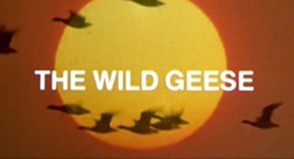 The Wild Geese Title Treatment