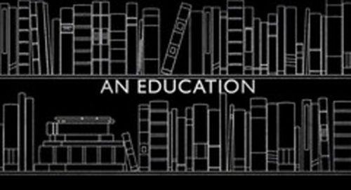 An Education Title Treatment