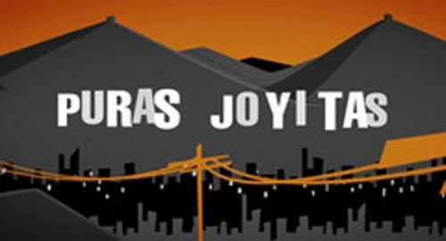 Puras Joyitas Title Treatment