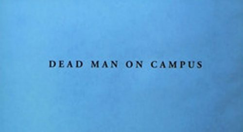 Dead Man on Campus Title Treatment