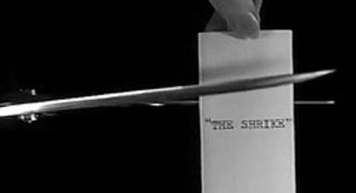 The Shrike Title Treatment