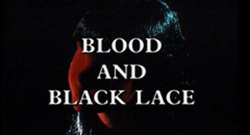 Blood and Black Lace Title Treatment