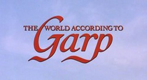 The World According to Garp Title Treatment