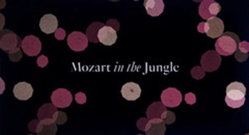 Mozart in the Jungle Title Treatment