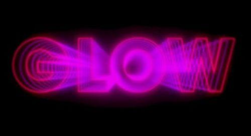 Glow Title Treatment