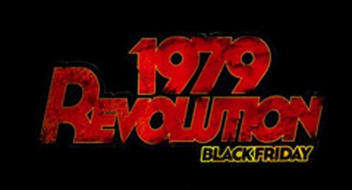 1979 Revolution Black Friday Title Treatment