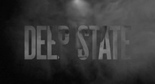 Deep State Title Treatment