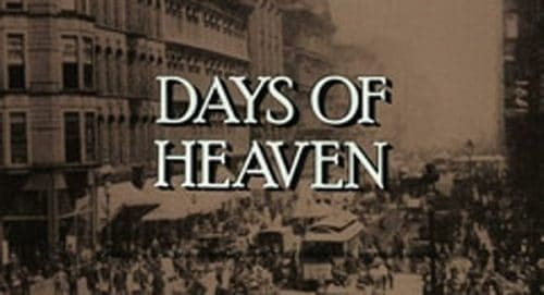 Days of Heaven Title Treatment