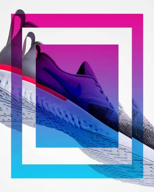 Tran La x Conscious Minds – Nike React IG Typographic Poster Campaign 8