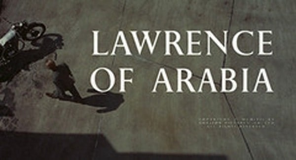 Lawrence of Arabia Title Treatment