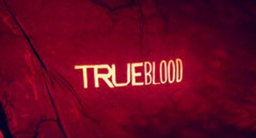 True Blood Title Treatment
