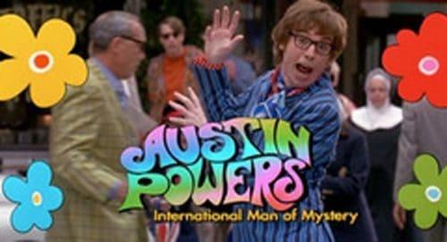 Austin Powers International Man of Mystery Title Treatment