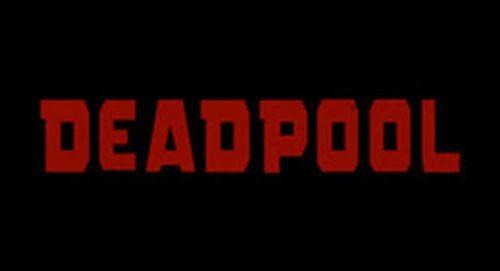Deadpool Title Treatment