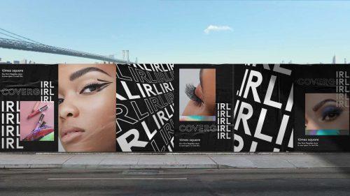 Covergirl, IRL poster design wild postings