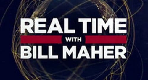 Real Time with Bill Maher Title Treatment