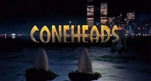 Coneheads Title Treatment