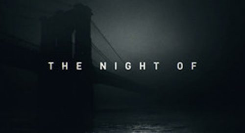 The Night Of Title Treatment