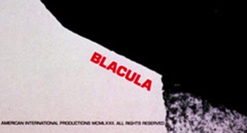 Blacula Title Treatment