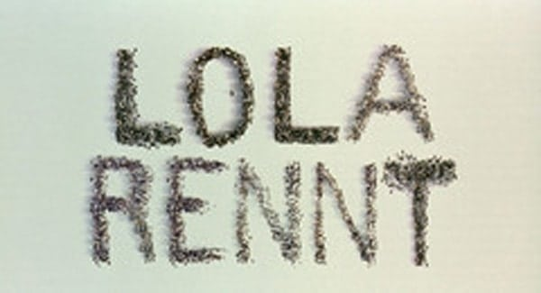Lola Rennt Title Treatment
