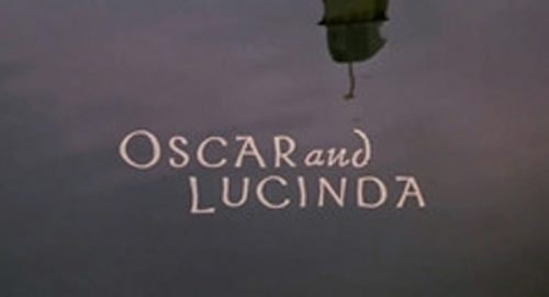 Oscar and Lucinda Title Treatment