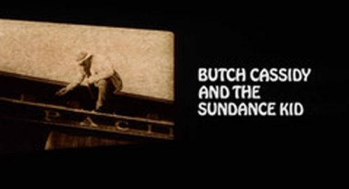 Butch Cassidy and the Sundance Kid Title Treatment