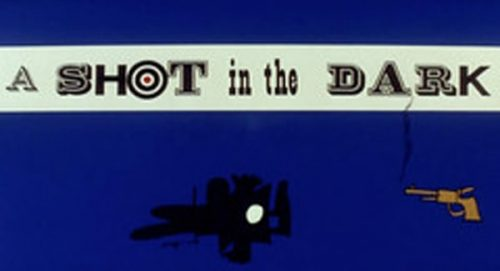 A Shot In the Dark Title Treatment