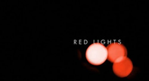 Red Lights Title Treatment