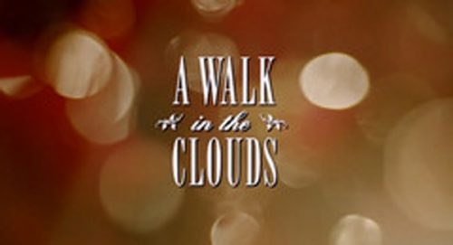 A Walk In The Clouds Title Treatment