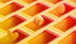 Facebook Stories Campaign – 3D Emojis