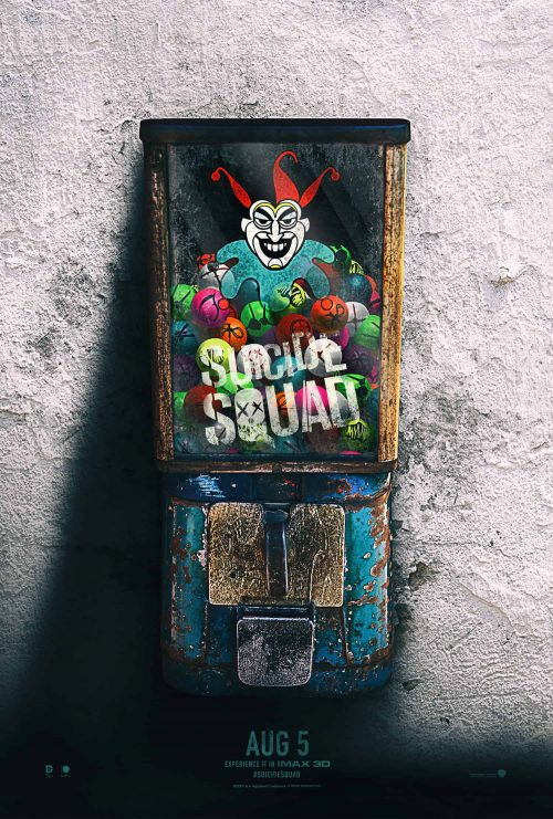 Tynell Marcelline – Suicide Squad – Key Art