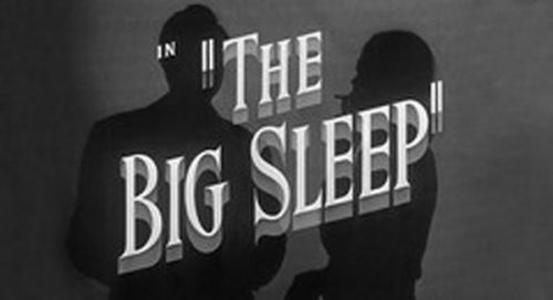 The Big Sleep Title Treatment