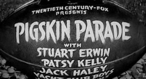 Pigskin Parade Title Treatment