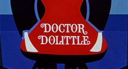 Doctor Dolittle Title Treatment