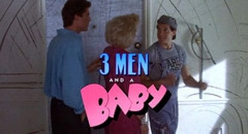 3 Men and a Baby Title Treatment