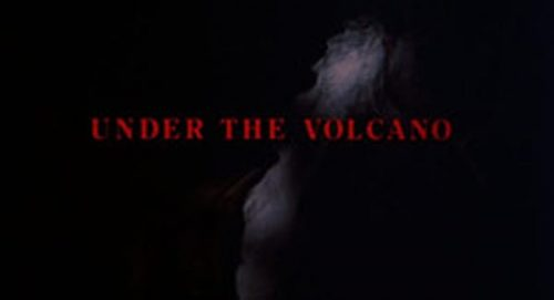 Under the Volcano Title Treatment