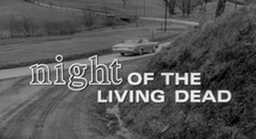 Night of the Living Dead Title Treatment