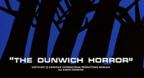 The Dunwich Horror Title Treatment