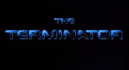 The Terminator Title Treatment