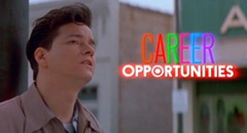 Career Opportunities Title Treatment