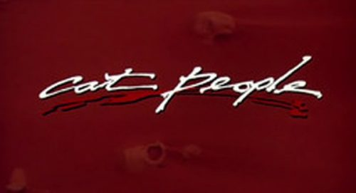 Cat People Title Treatment