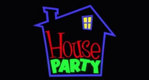 House Party Title Treatment