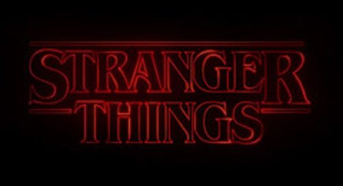 Stranger Things Title Treatment