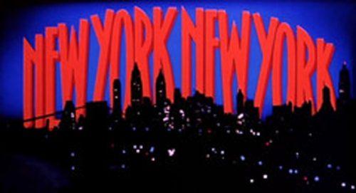 new york new york Title Treatment