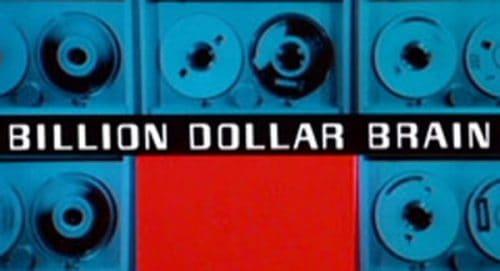 Billion Dollar Brain Title Treatment