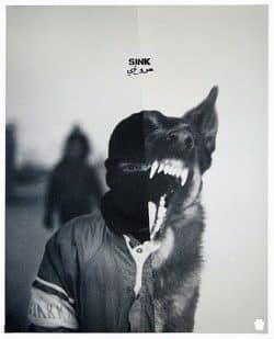Sink Man and Wolf Split Treatment Photo