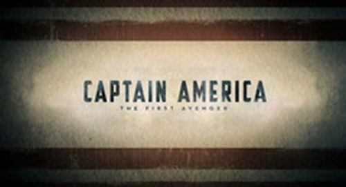 Captain America The First Avenger Title Treatment