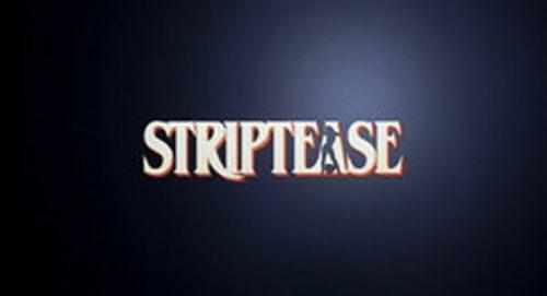 Striptease Title Treatment
