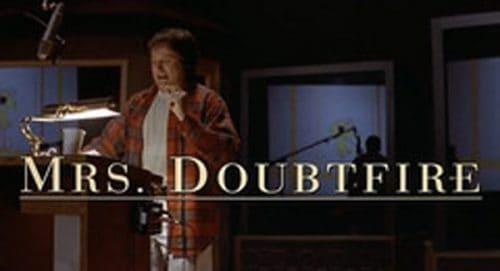 Mrs. Doubtfire Title Treatment